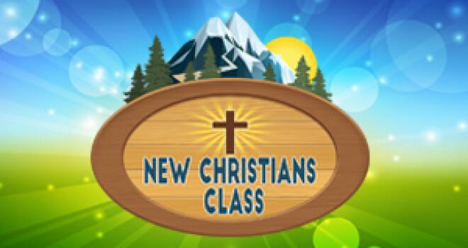 Childhood New Christians Class