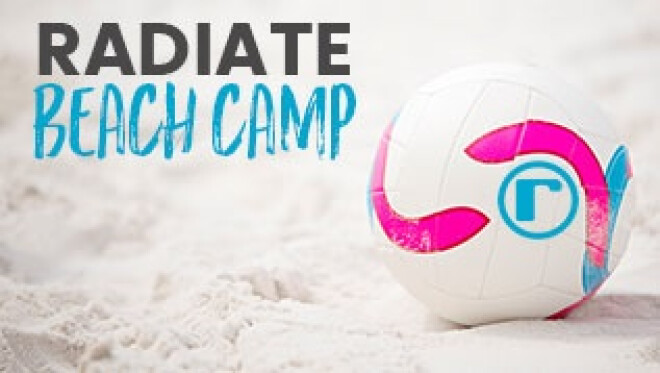 Beach Camp: Radiate High School Students