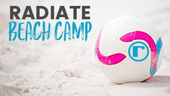 Beach Camp: Radiate High School Students