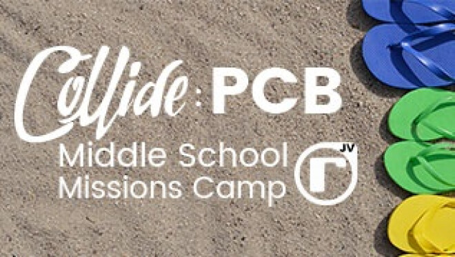 Collide: PCB Middle School Missions Camp