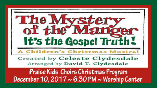 The Mystery of the Manger - iPraise Musical