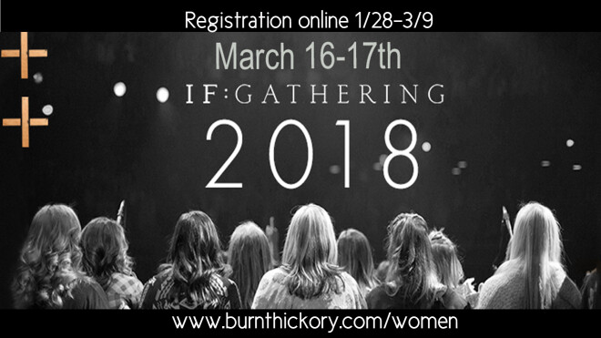 IF: Gathering, Women's conference 2018