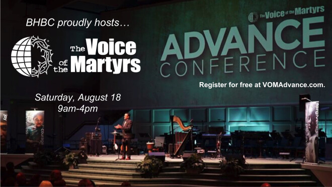 Voice of Martyrs Conference