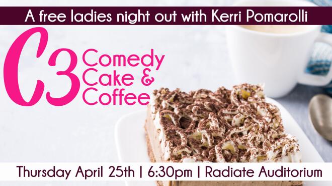 C3: Comedy, Cake and Coffee
