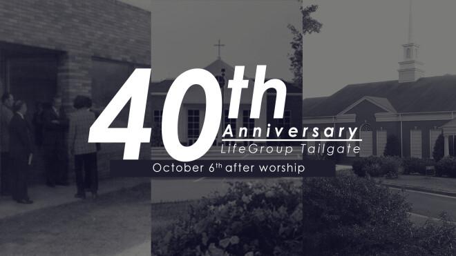 Burnt Hickory 40th Anniversary Celebration